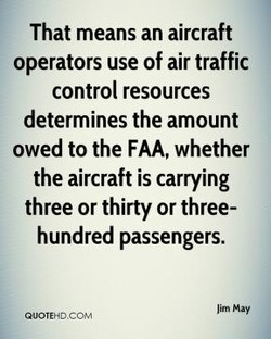 That means an aircraft 