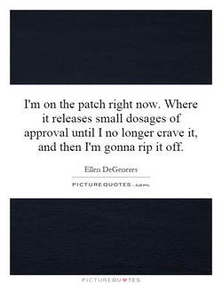I'm on the patch right now. Where 