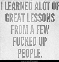 LEARNED ALOT 