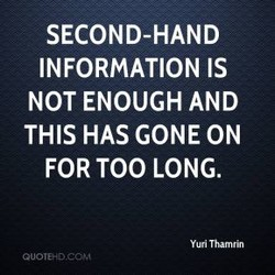 SECOND-HAND 