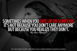SOMETIMES WHEN YOU ON SOMEONE 