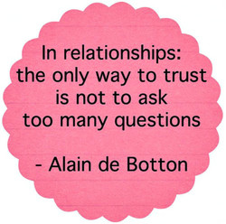 In relationships: 