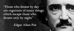 Who dream by day 