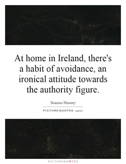 At home in Ireland, there's 