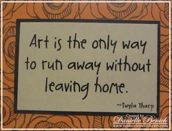 Art is only way 