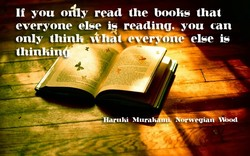 Ii you OKIy read the books that 