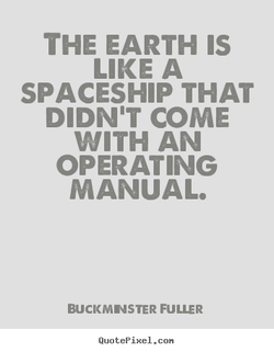 THE EARTH IS 