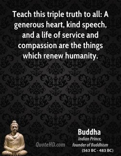 Teach this triple truth to all: A 
