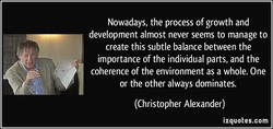 Nowadays, the process of growth and 