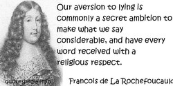 Our aversion to lying js 