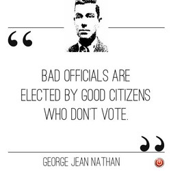 BAD OFFICIALS ARE 