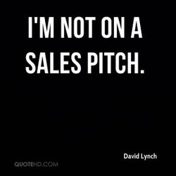 I'M NOT ON A 