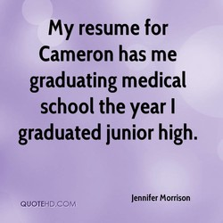 my resume for 