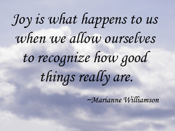 yoy is what happens to us 