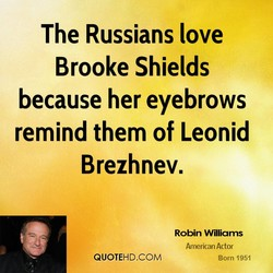 The Russians love 