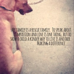 A RESCUE FAMILY. 10 SPEAK ABOUT 