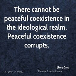 There cannot be 