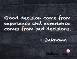 Good decision COMe 0M 