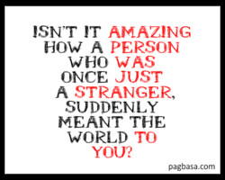 ISN'T IT AMAZING 