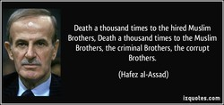 Death a thousand times to the hired Muslim 