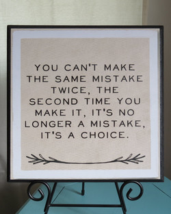 YOU CAN'T MAKE 
