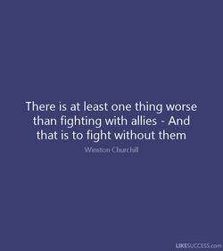 There is at least one thing worse 
