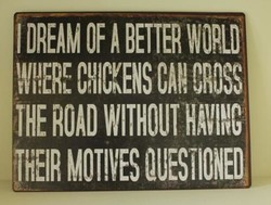 I DREAM OF BETTER 