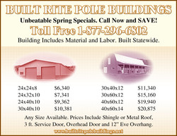 Unbeatable Spring Specials. Call Now and SAVE! 
