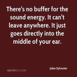 There's no buffer for the 