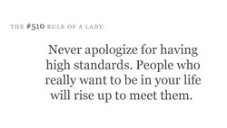THE #510 RULE OF A LADY: 