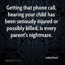 Getting that phone call, 