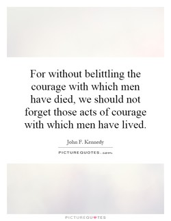 For without belittling the 