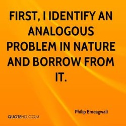 FIRST, I IDENTIFY AN 