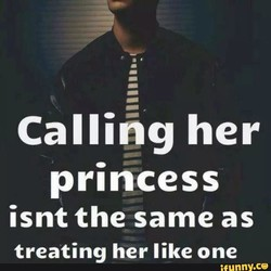 Calling her 