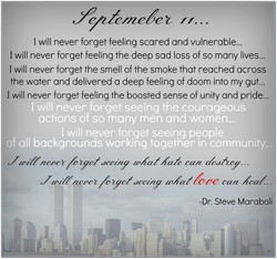 I will never forget feeling scared and vulnerable... 