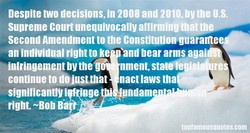 Despite two decisions, In 2008 and 2010, by the U.S. 