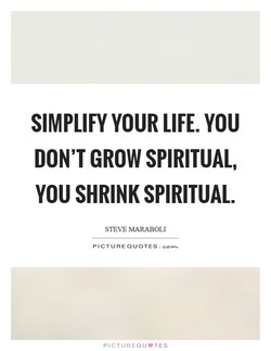 SIMPLIFY YOUR LIFE. YOU 