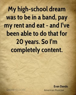 my high-school dream 