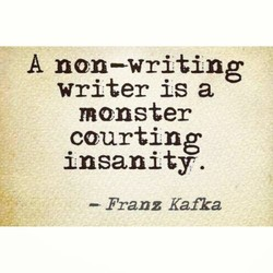 A non—writing 