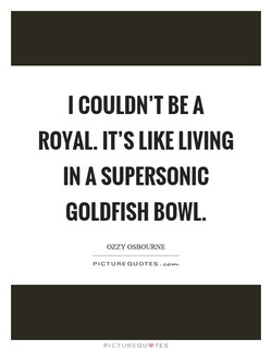 I COULDN'T BE A 