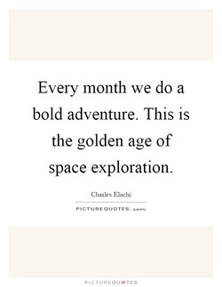 Every month we do a 