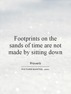 Footprints on the 