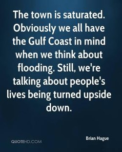 The town is saturated. 