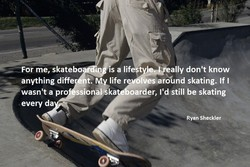 For me, skate 