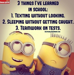 2 TUINGS I'VE LEARNED 
