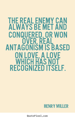 THE REAL ENEMY CAN 