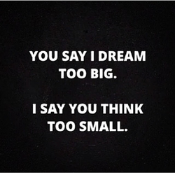 YOU SAY I DREAM 