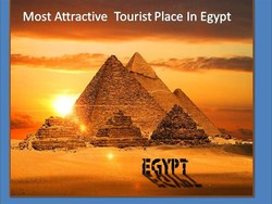 Most Attractive Tourist Place In Egypt