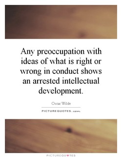 Any preoccupation with 