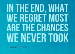 IN THE END, WHAT 